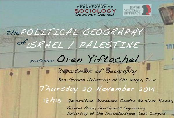 Oren Yiftachel_20 Nov 2014_resized